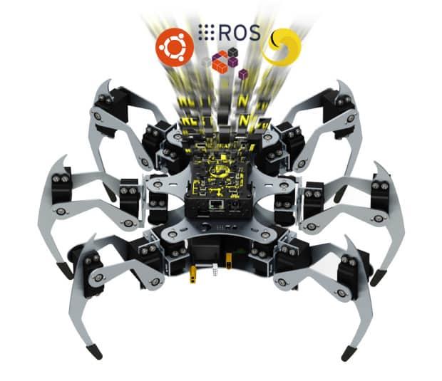 Erle Robotics lanza una campaña de crowdfunding para Erle Spider [VÍDEO]